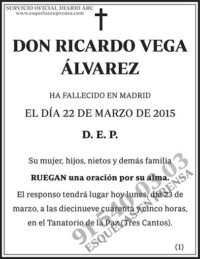 Ricardo Vega Álvarez